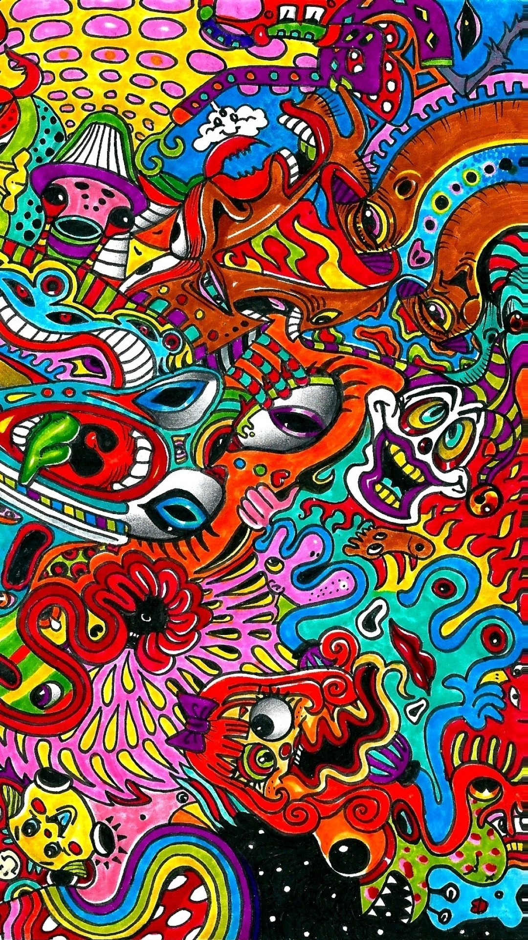 Weed Iphone X Wallpaper Crazy Trippy Backgrounds 183 ①