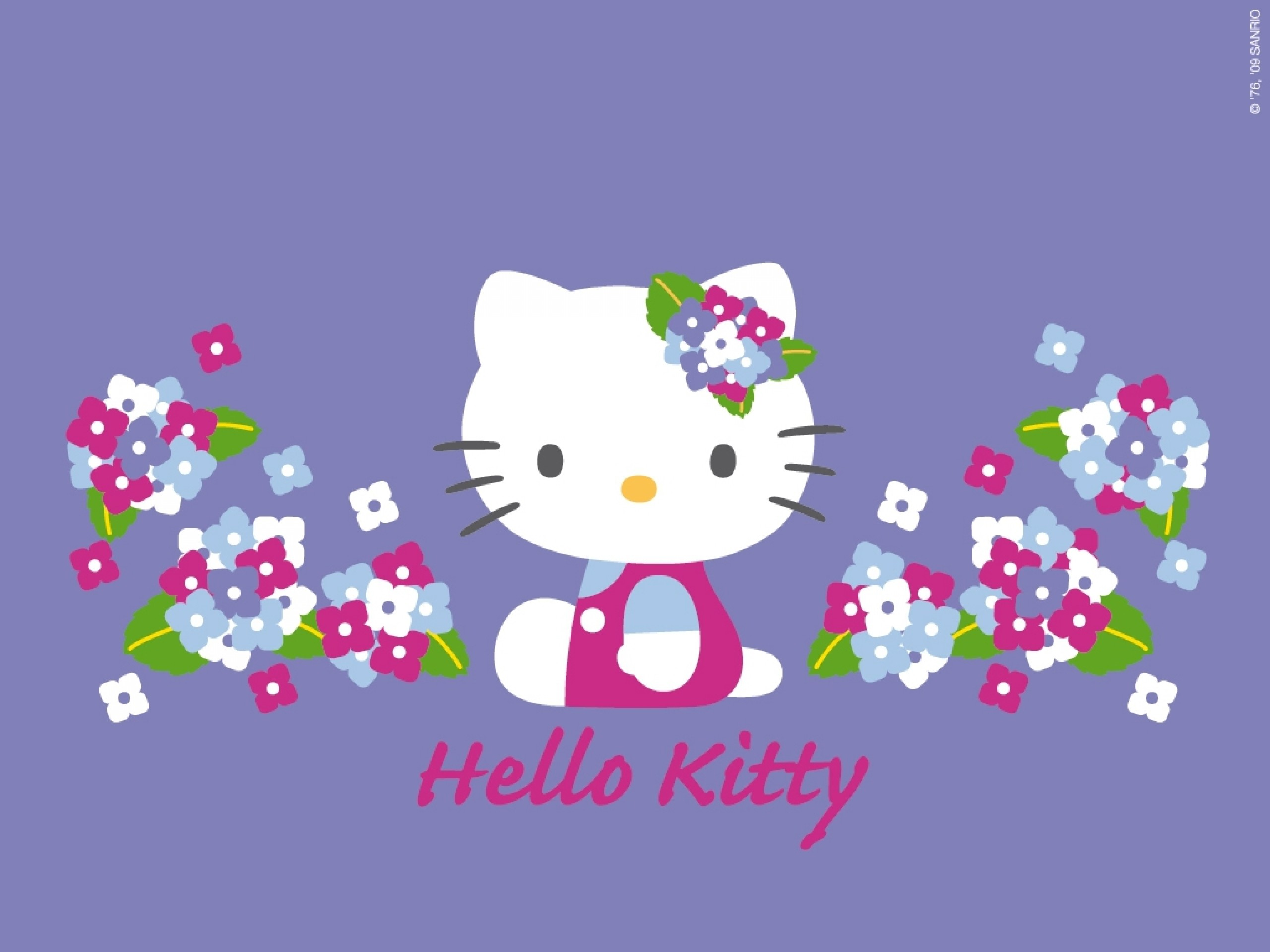Cute Blue Hello Kitty Wallpapers For Android Christmas Hello Kitty Wallpaper 183 ①