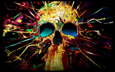 Skull background ·① Download free awesome High Resolution wallpapers for desktop, mobile, laptop ...