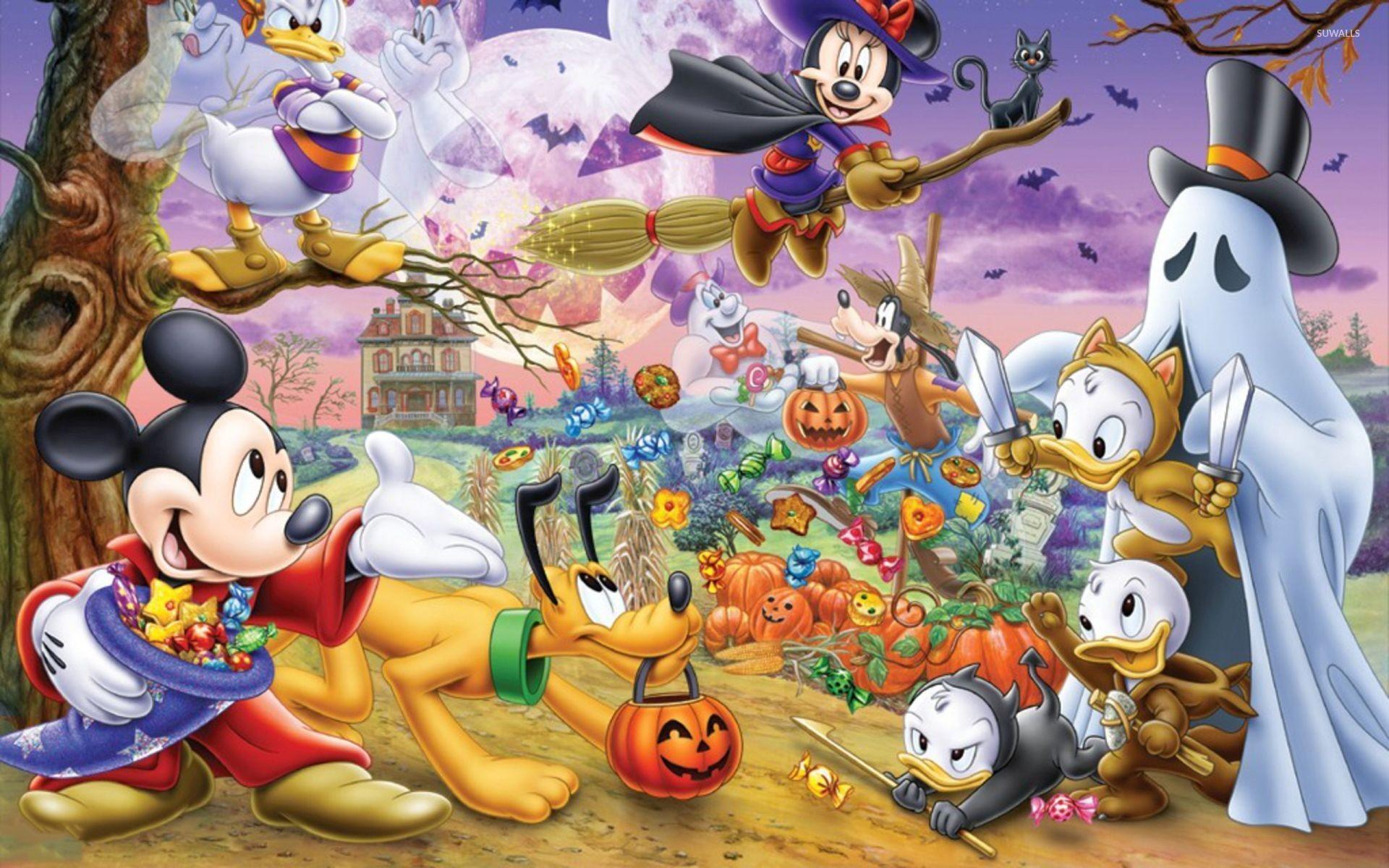 Cute Love Wallpapers Download Hd Disney Halloween Wallpapers 183 ①