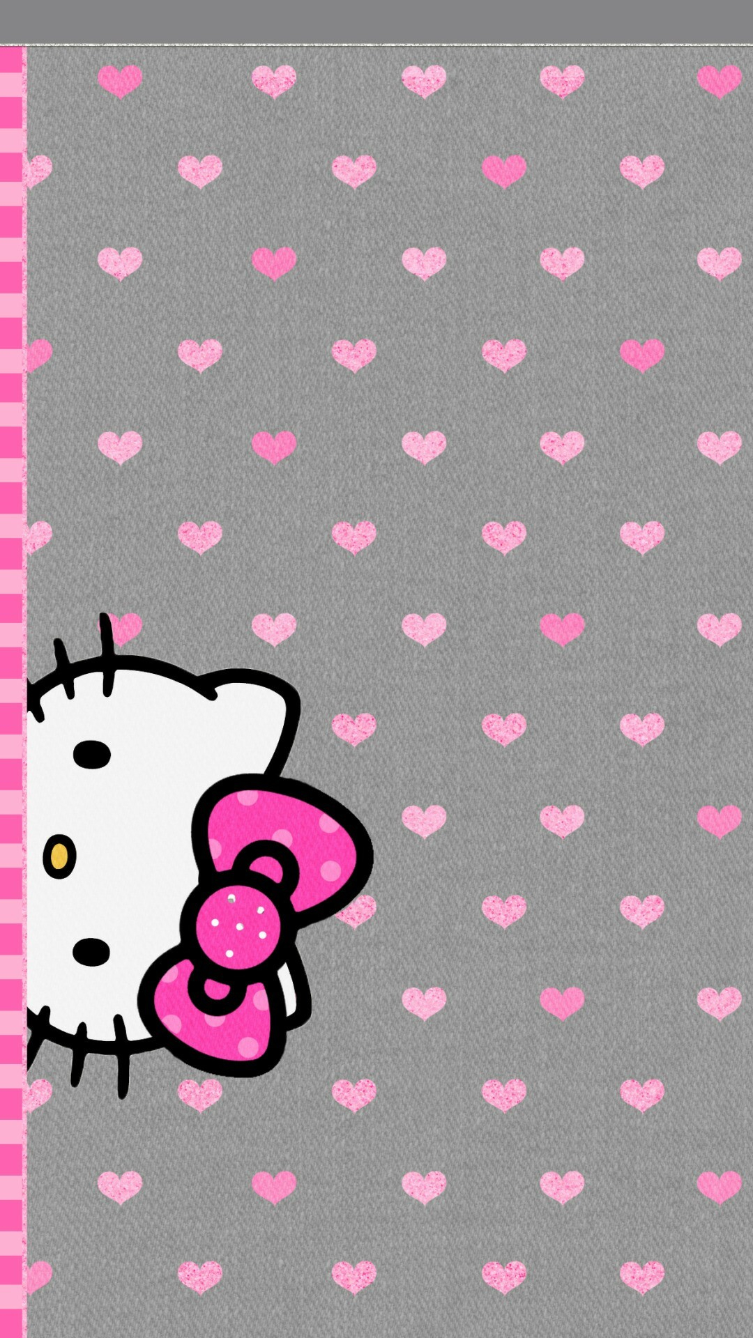 Pink Iphone 6 Wallpaper Hello Kitty Black And Pink Wallpaper 183 ①