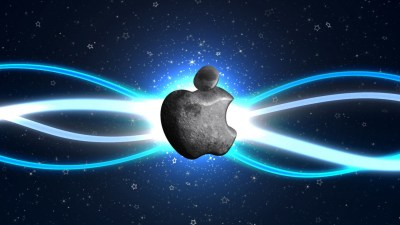 Cool Apple Logo Wallpaper ·①