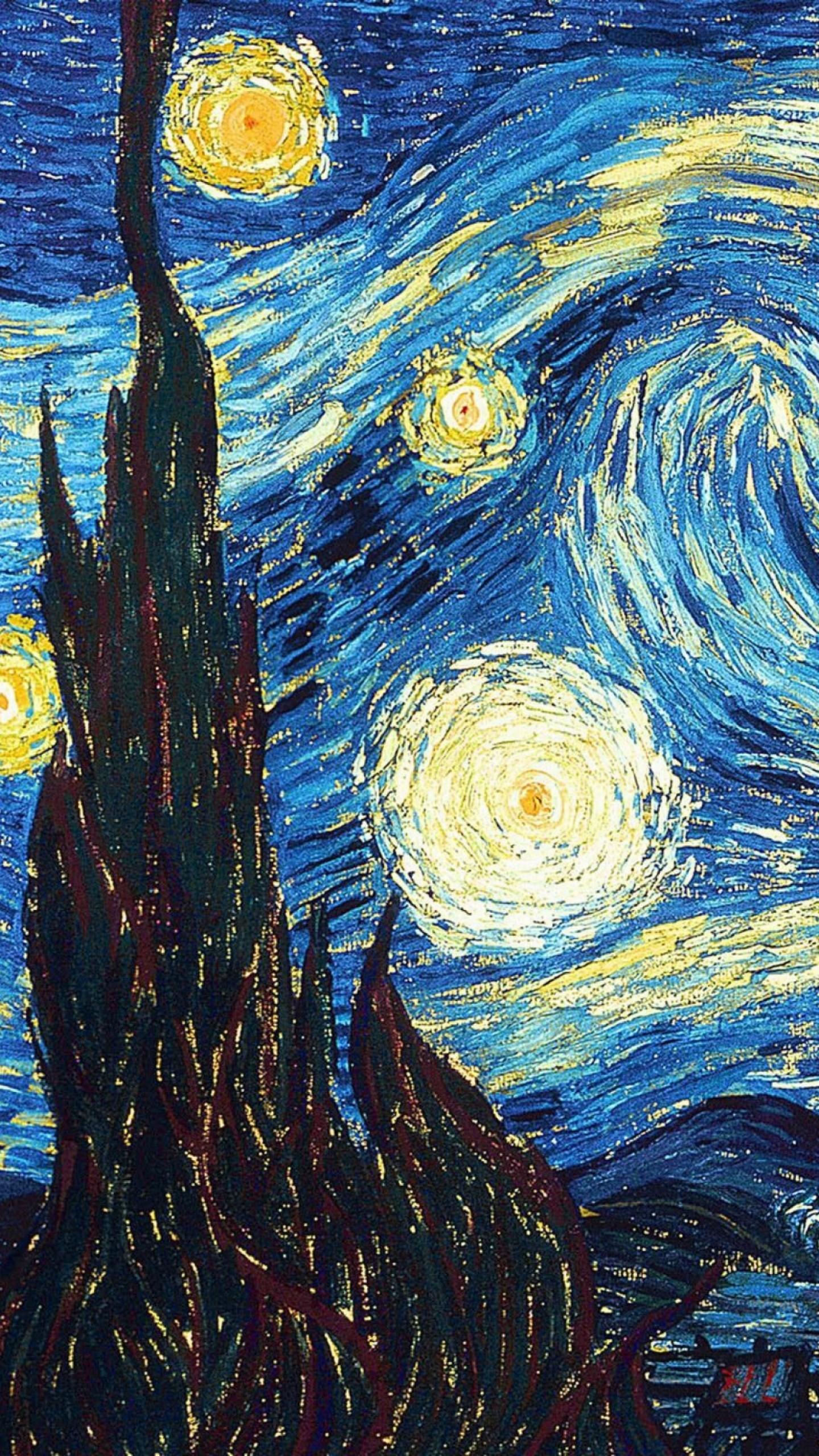 Vincent Van Gogh The Starry Night Wallpaper | 39starry Night 39 ...