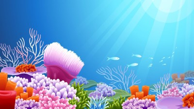 Under the Sea background ·① Download free stunning full HD backgrounds for desktop and mobile ...