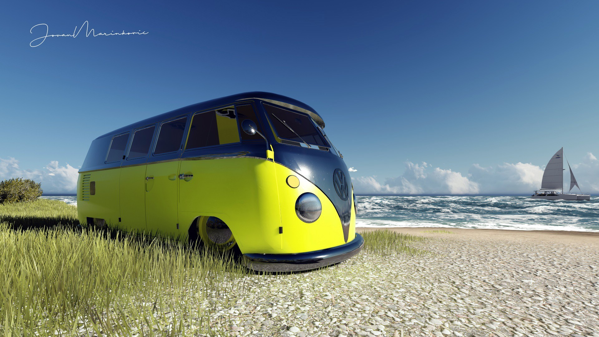 Toy Car Wallpaper Vw Bus Wallpaper 183 ①