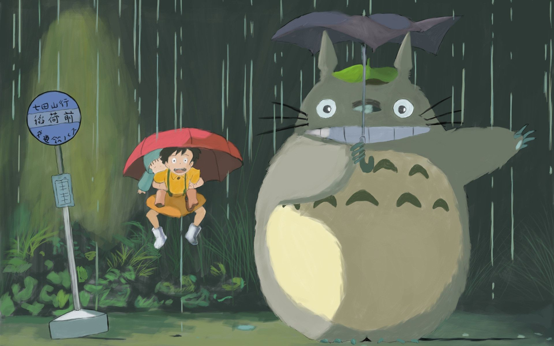 Cute Cartoon Hd Wallpapers Free Download My Neighbor Totoro Wallpaper 183 ① Download Free Beautiful