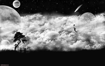 Cool Black and White Wallpapers ·①