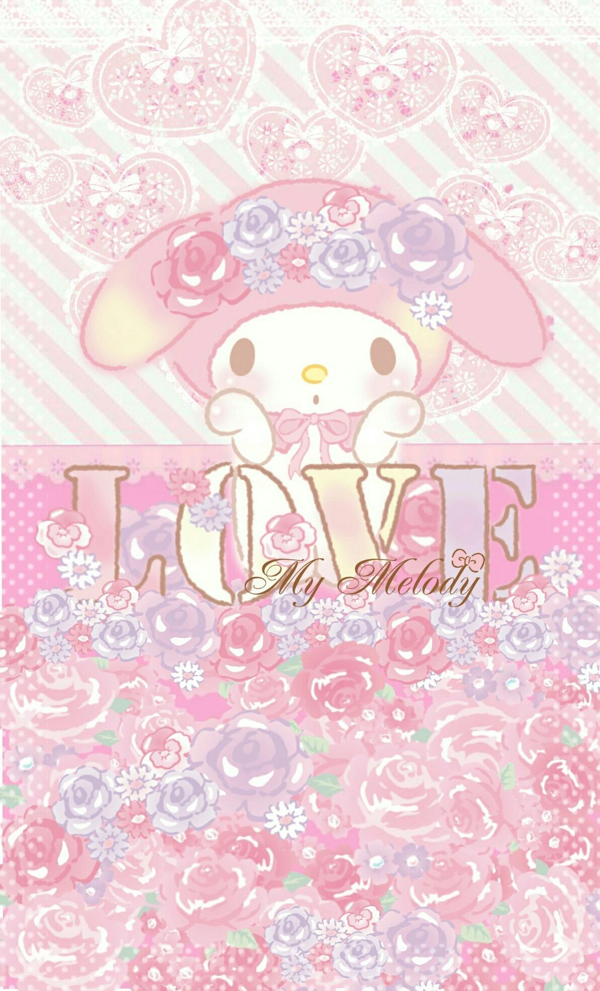 Cute Wallpaper Rilakkuma My Melody Wallpaper 183 ①