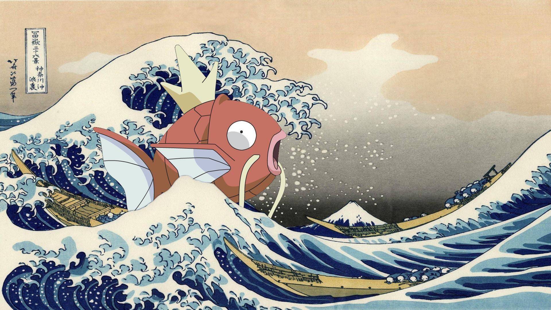 The Great Wave Off Kanagawa Hd Wallpaper The Great Wave Off Kanagawa Wallpaper 183 ①