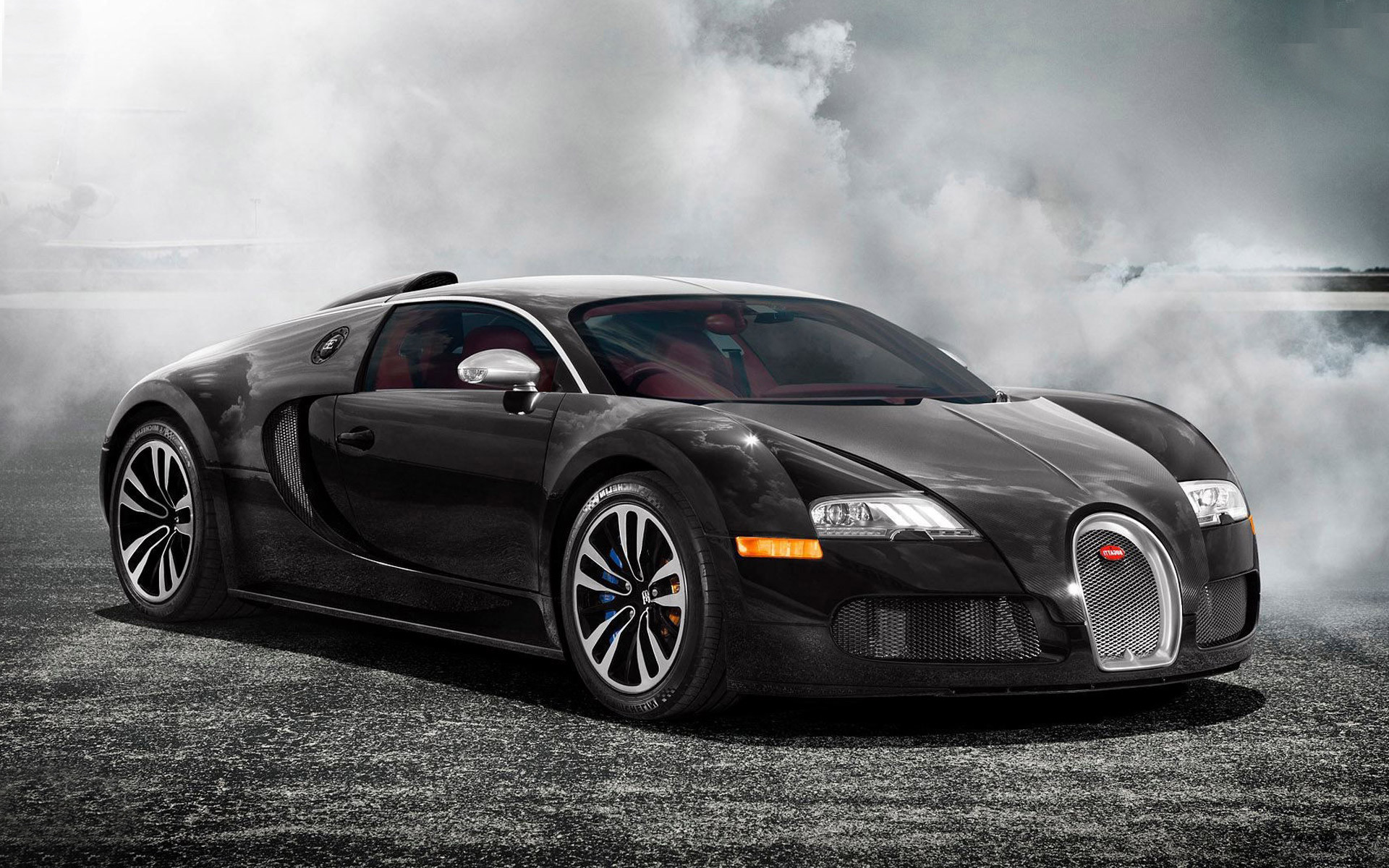 3d Bugatti Car Wallpaper Black Bugatti Veyron Wallpaper 183 ①