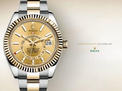 Rolex Wallpaper ·①
