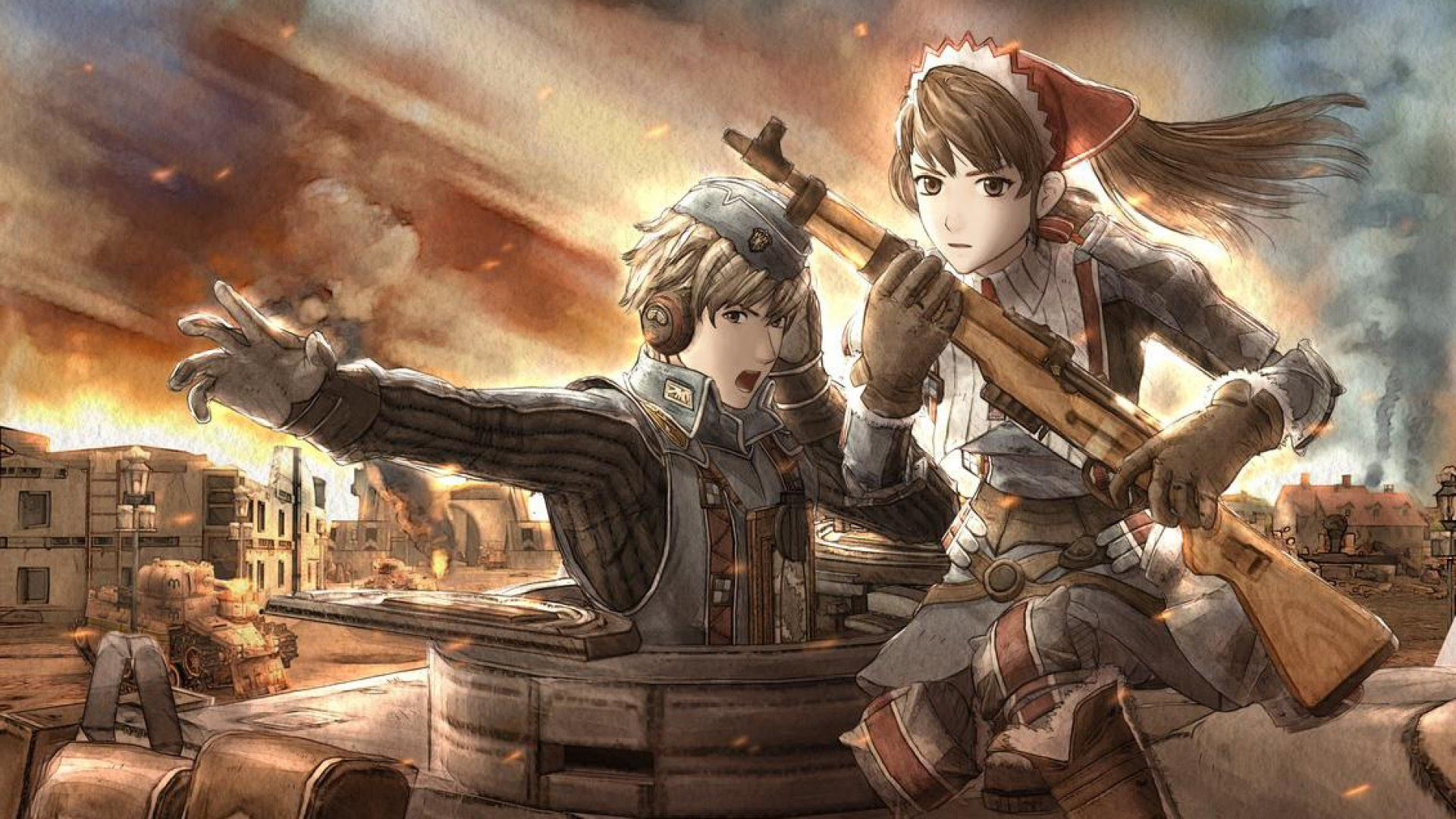 Fight Like A Girl Computer Wallpaper Valkyria Chronicles Wallpaper 183 ① Download Free Cool