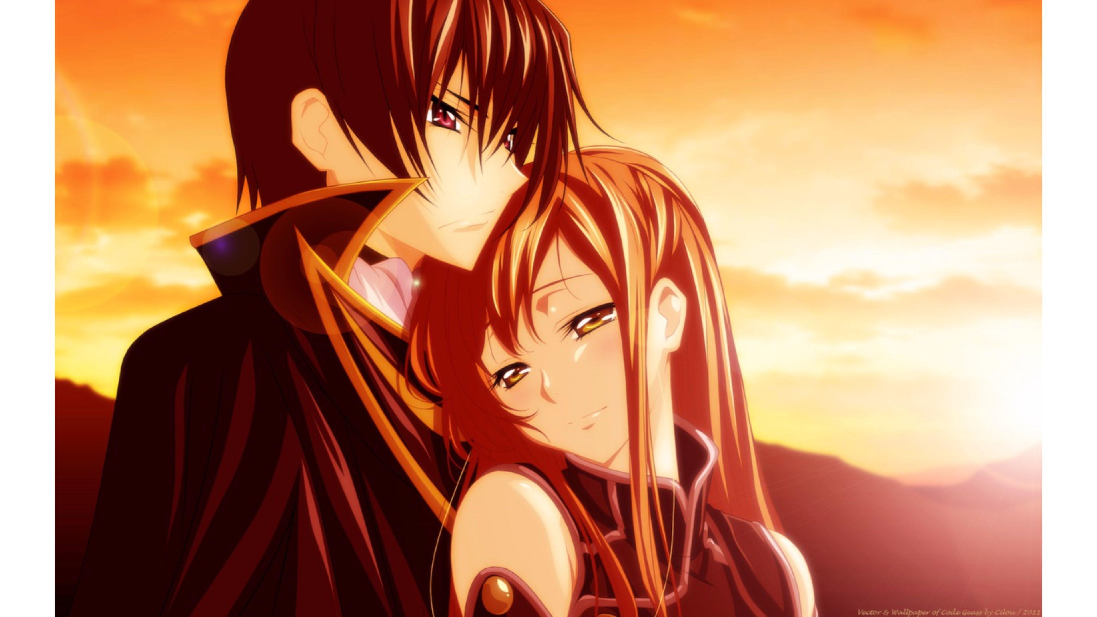 3d Couple Kissing Wallpapers Anime Love Wallpaper 183 ①