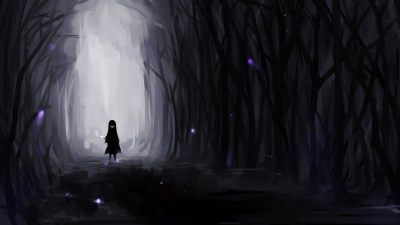 Dark Anime Scenery wallpaper ·① Download free stunning High Resolution backgrounds for desktop ...