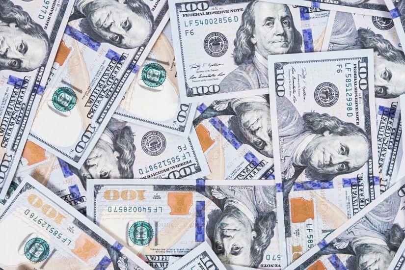 Falling Money Wallpaper Hd 100 Dollar Bill Wallpaper 183 ①