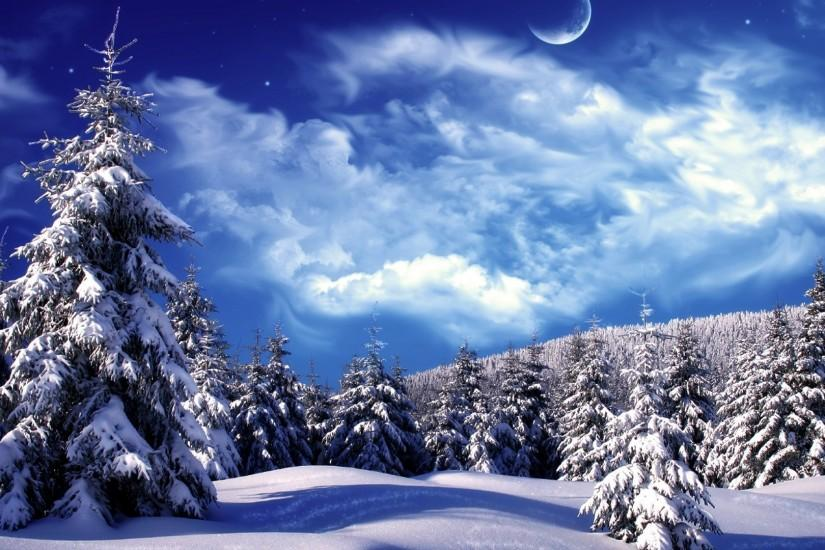 Snow Falling Wallpaper For Ipad Winter Wonderland Background 183 ① Download Free Stunning