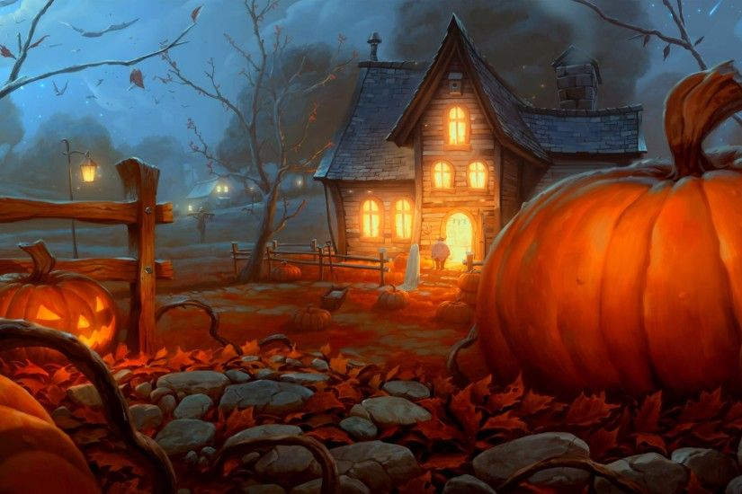 Fall Pumpkin Computer Wallpaper Fall Pumpkin Wallpaper 183 ①