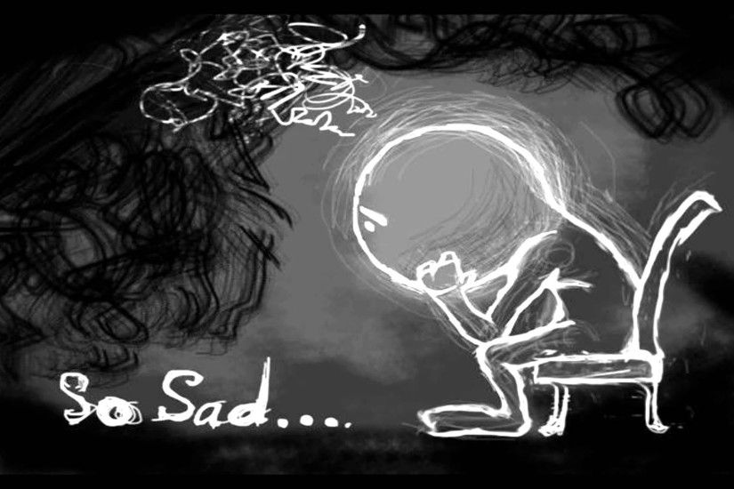 Animated Lonely Boy Wallpapers Depression Wallpapers 183 ①
