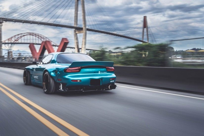 Cool Modified Cars Wallpapers Mazda Rx7 Wallpaper 183 ①