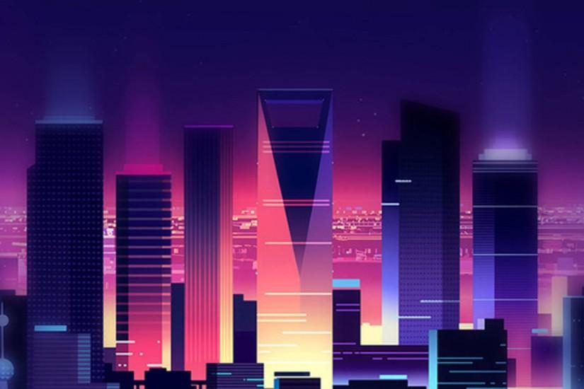 Miami Iphone X Wallpaper Synthwave Wallpaper 183 ① Download Free High Resolution