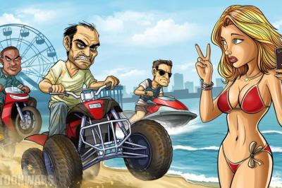 GTA V wallpaper ·① Download free awesome full HD backgrounds for desktop and mobile devices in ...