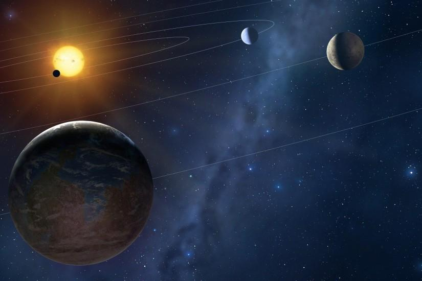 Solar System 3d Wallpaper Solar System Wallpaper 183 ① Download Free Stunning High