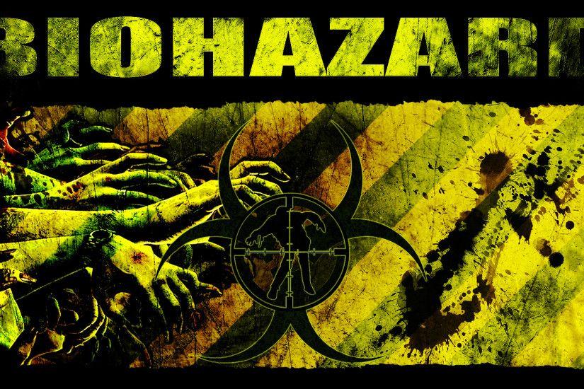 Cool 3d Skull Wallpapers Biohazard Symbol Wallpaper 183 ①