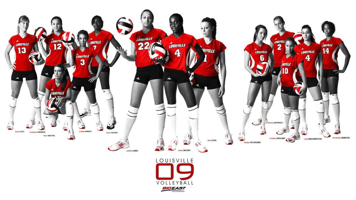 Wallpaper Louisville Volleyball College Louisville Wallpaper 1920x1080 128558