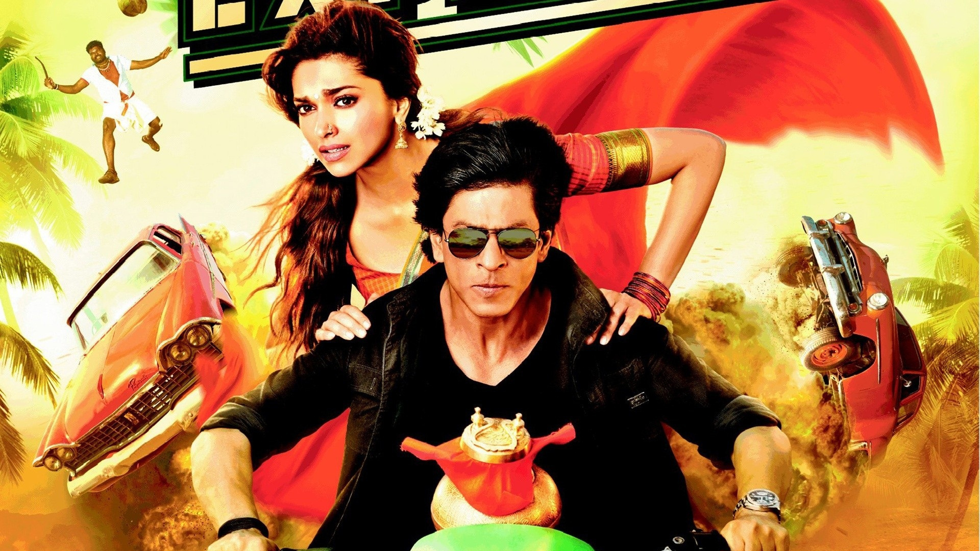 Poster Xpress Chennai Express Action Poster R Wallpaper 1920x1080