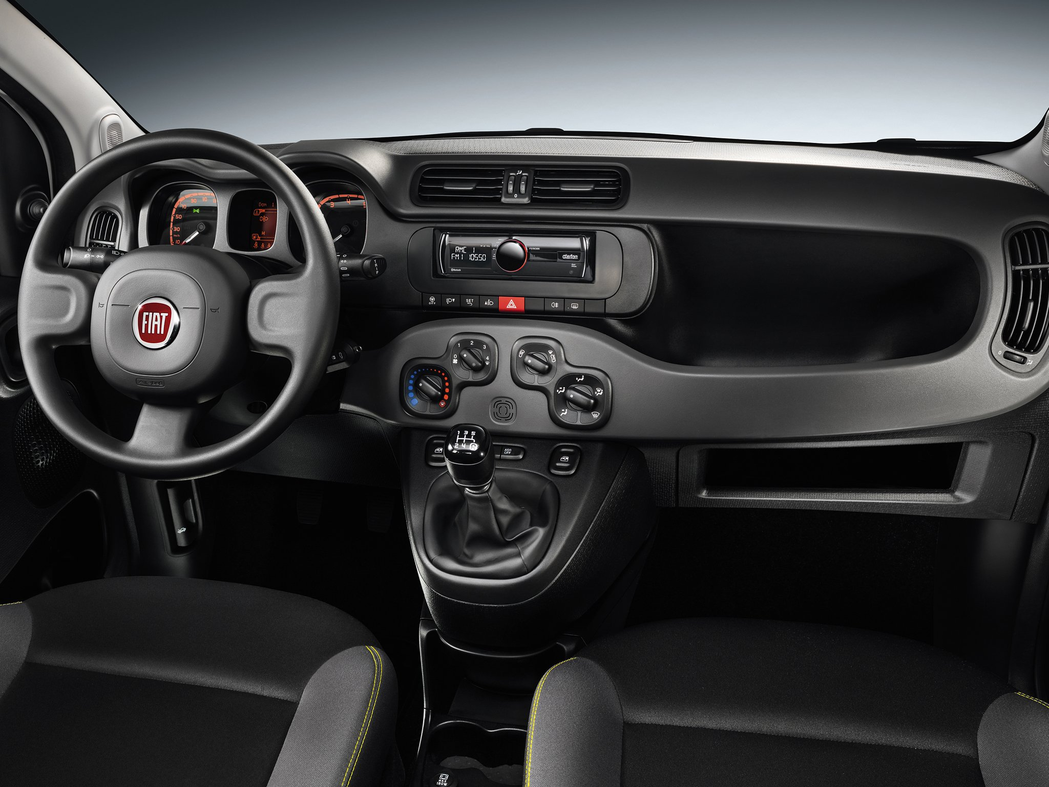 Interieur Fiat Panda 1 2014 Fiat Panda Young 319 Interior F Wallpaper