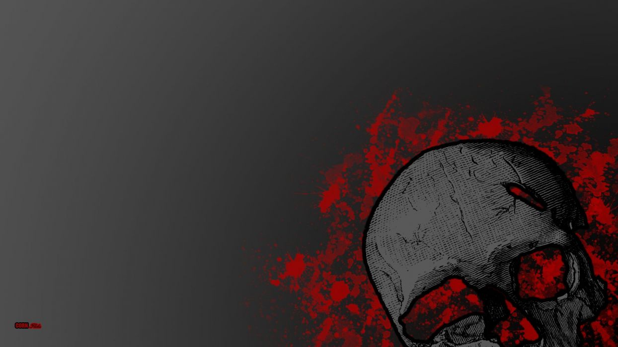 Dark Blood Wallpaper Dark Blood Skull Wallpaper 1920x1080 329828 Wallpaperup