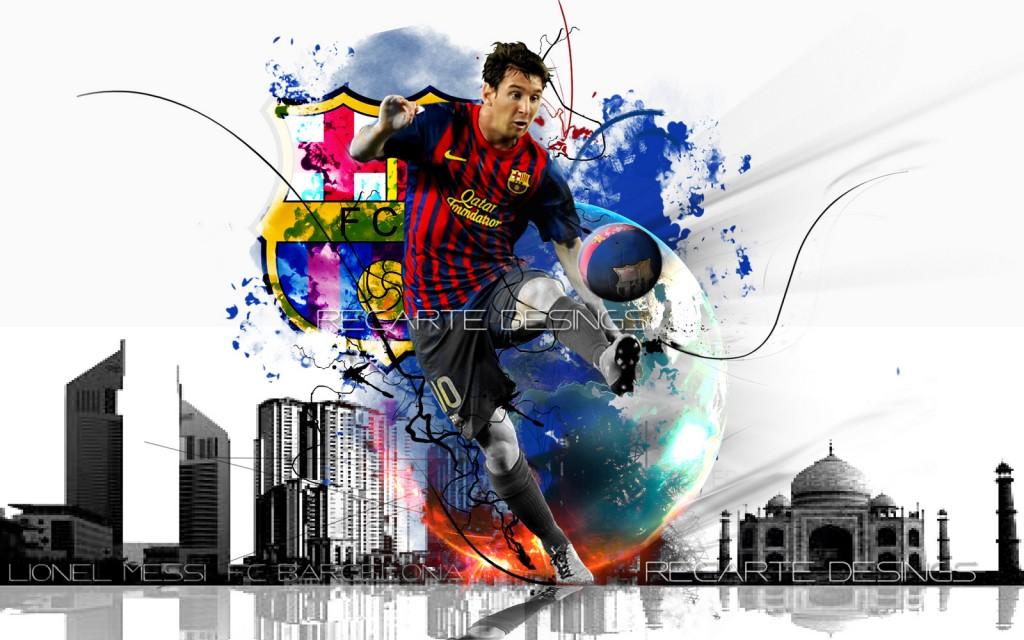 Arsenal Fc 3d Wallpapers Lionel Messi Wallpaper 2013 Wallpup Com