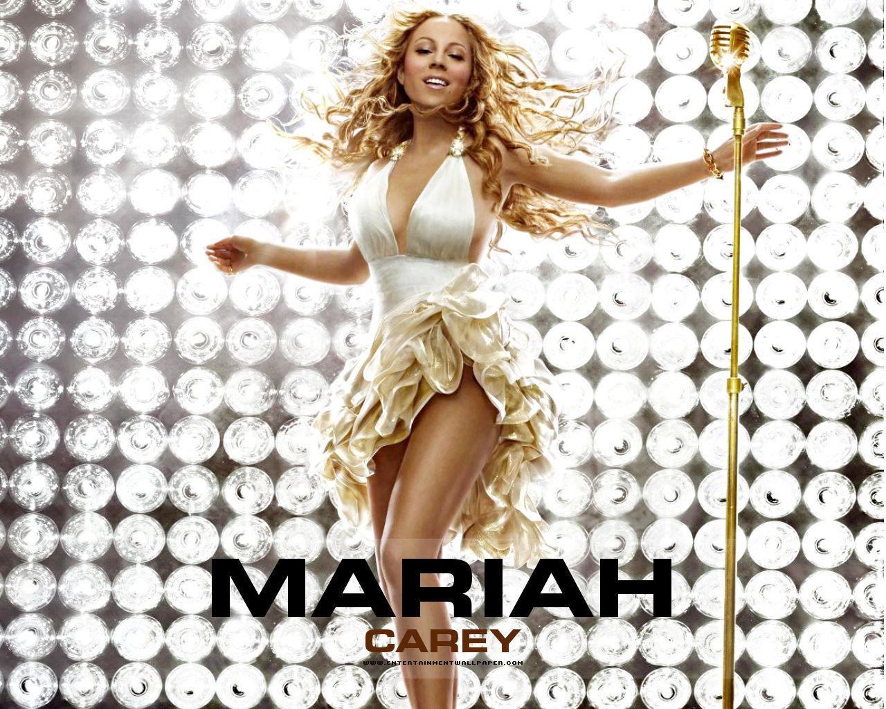 Happy Birthday 3d Name Wallpaper Mariah Carey Sing Wallpaper Wallpup Com