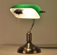 Antique Desk Lamps Bronze Metal