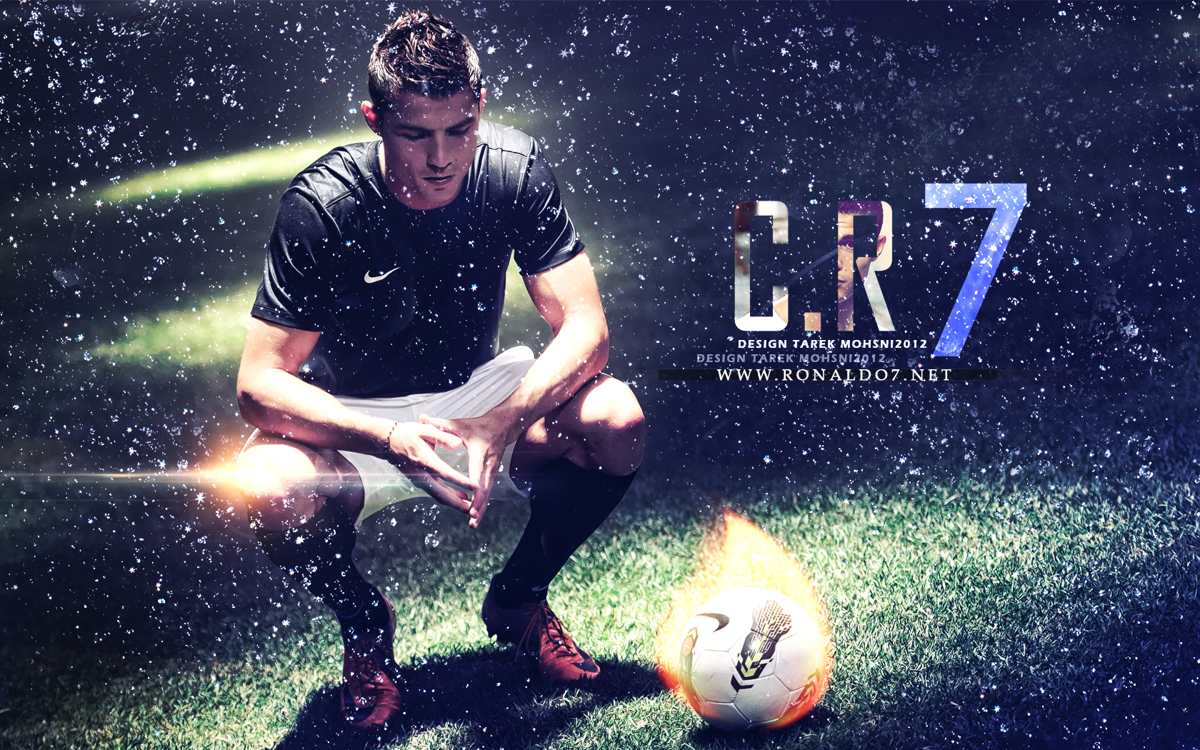 3d Wallpapers Messi Cristiano Ronaldo Or Cr7 Picture Image Wallpaper Full Hd