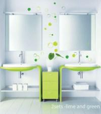 58 Bubbles Bathroom Window Shower Tile Wall Stickers Wall ...