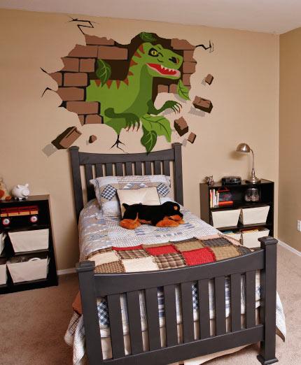 Dinosaur Decor Ideas- DIY Dinosaur Decor Off the Wall - dinosaur bedroom ideas