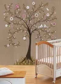 how to paint a tree mural | Off the Wall