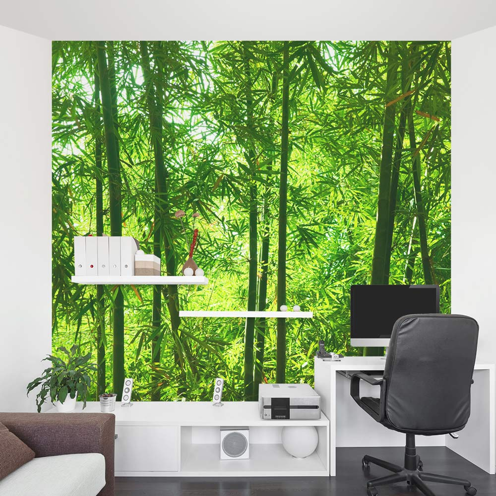Wallpaper Murals For Bathrooms Bamboo Forest Wall Mural