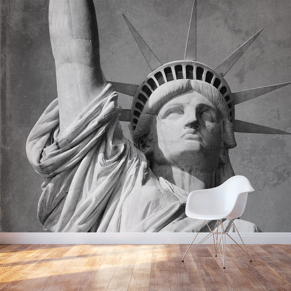 Office Accent Wall Statue Of Liberty Wall Mural