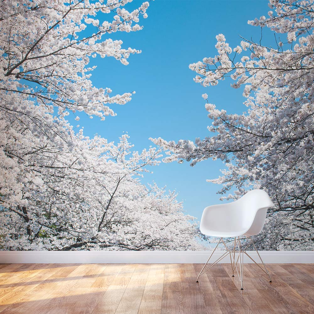 Removable Wallpaper Murals Cherry Blossom Wall Mural