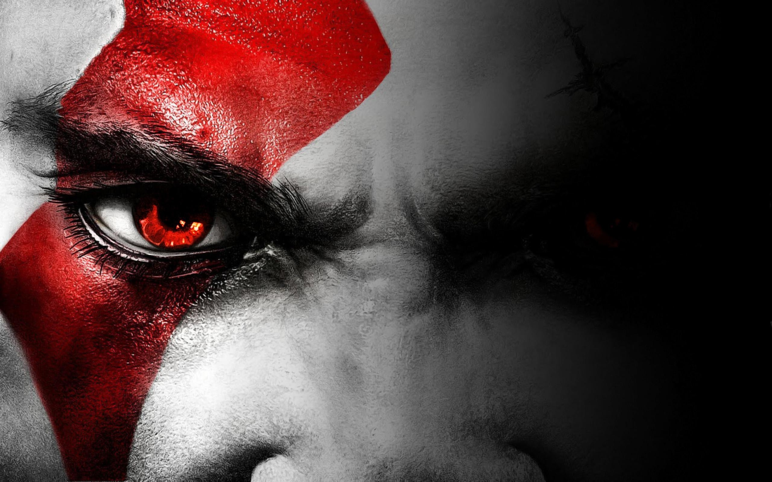 Asus 3d Wallpaper Hd God Of War Angry Face Wallpapers Hd Desktop And Mobile