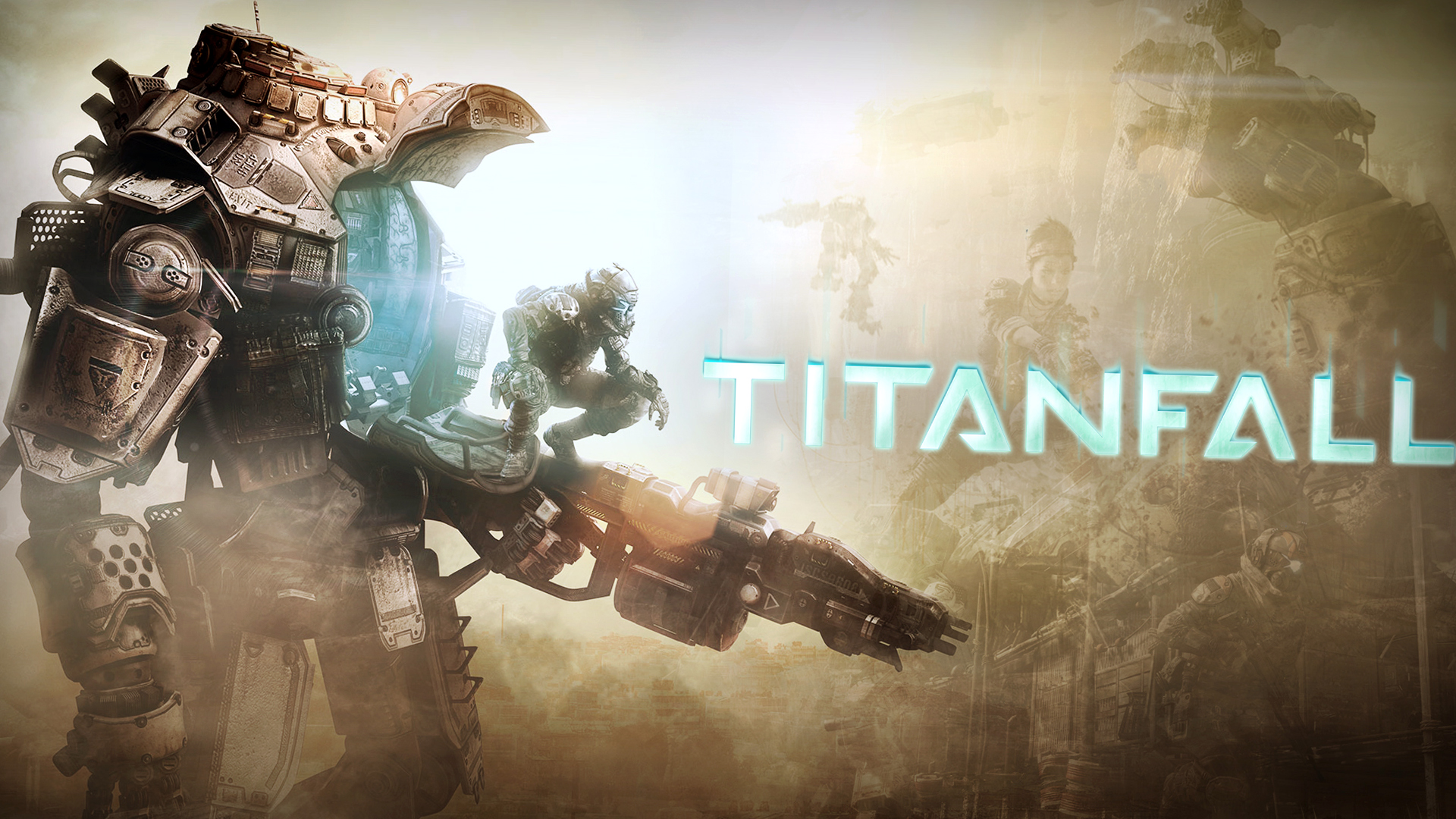 Cool Cars Wallpaper With Girls Cool Titanfall Game Cover Wallpapers Hd Desktop And