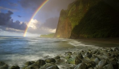 Nice Rainbow Over The Mountain Wallpapers HD / Desktop and Mobile Backgrounds
