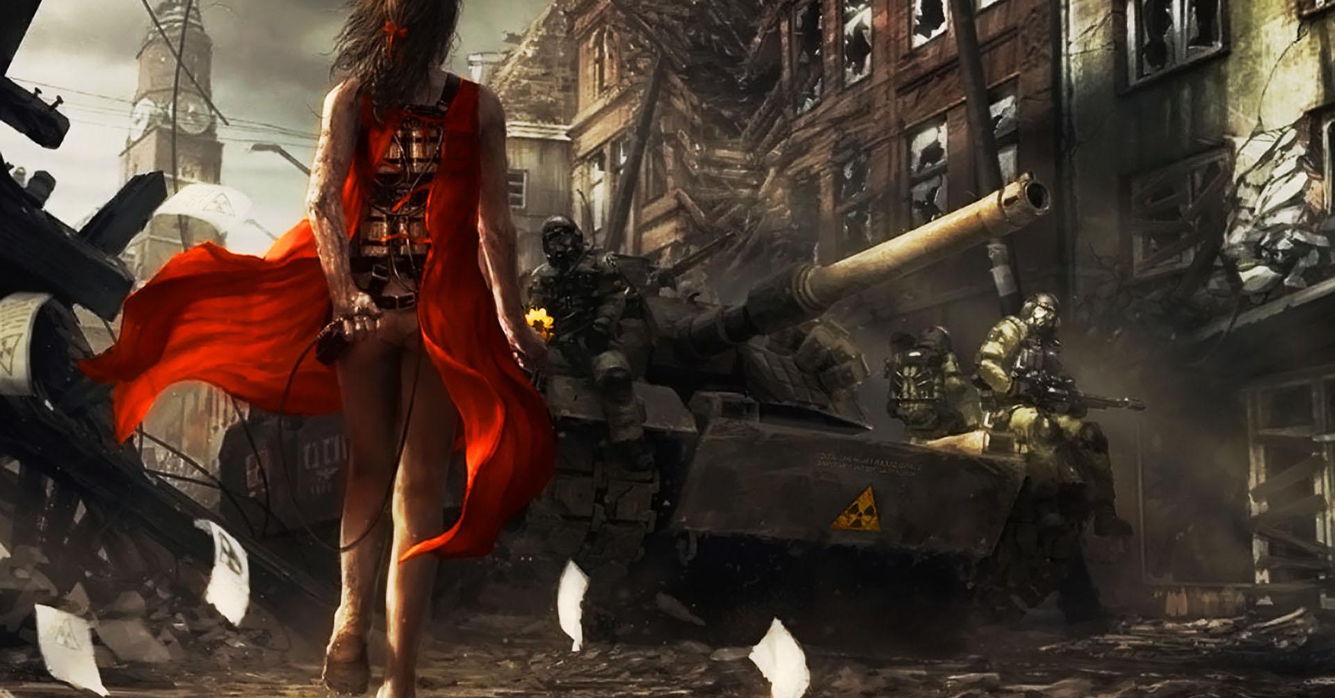 Sad Girl Wallpaper 1080p Military Suicide Apocalypse War Dress Wallpapers Hd