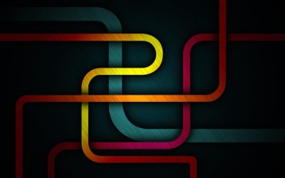 abstract, Geometry, Dark, Colorful, Lines Wallpapers HD / Desktop and Mobile Backgrounds