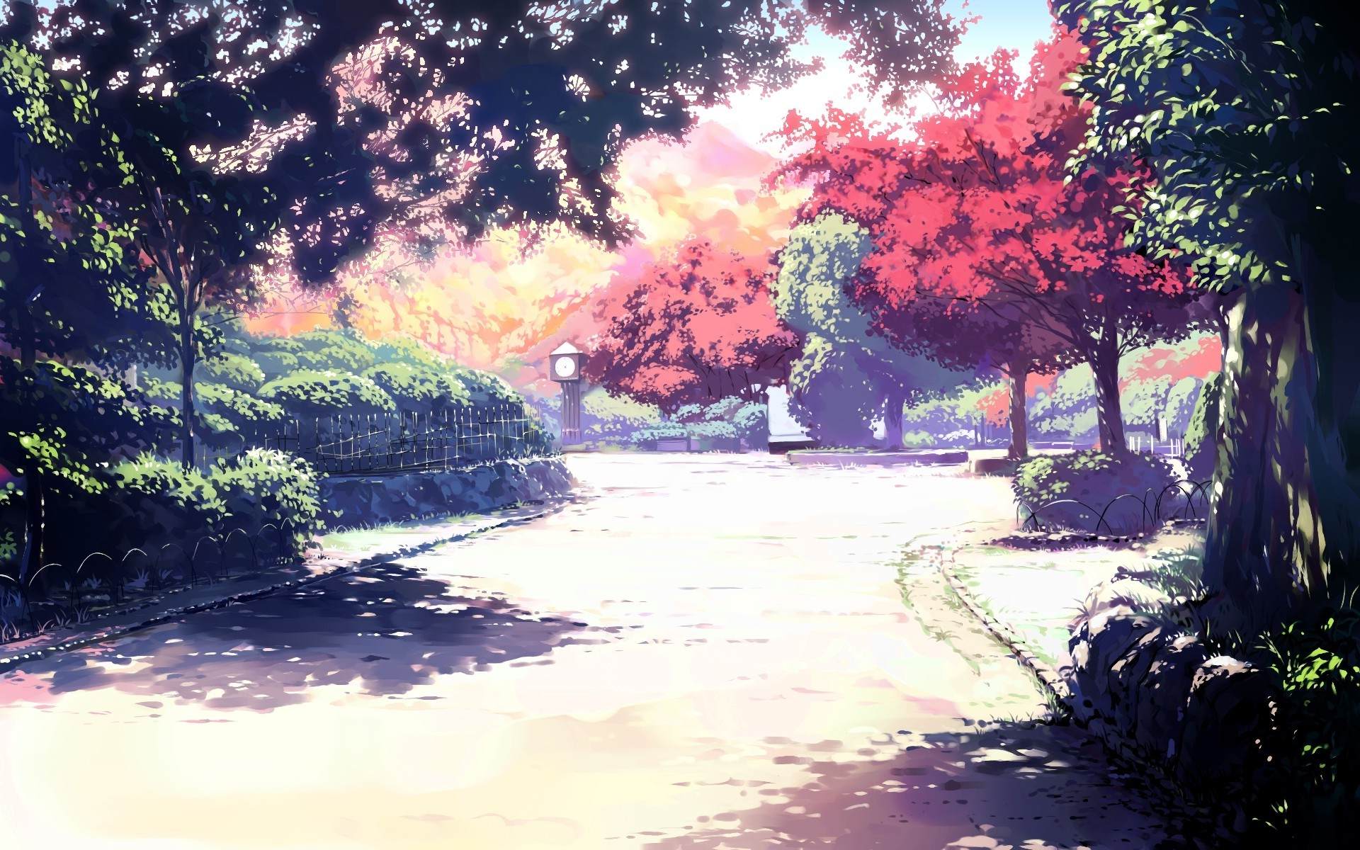 Pretty Wallpapers For Fall Sunlight Spirited Away Anime Wallpapers Hd Desktop And