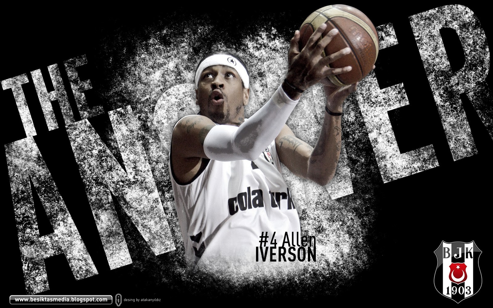 Best Nba Wallpapers Hd Allen Iverson Basketball Besiktas J K Turkey