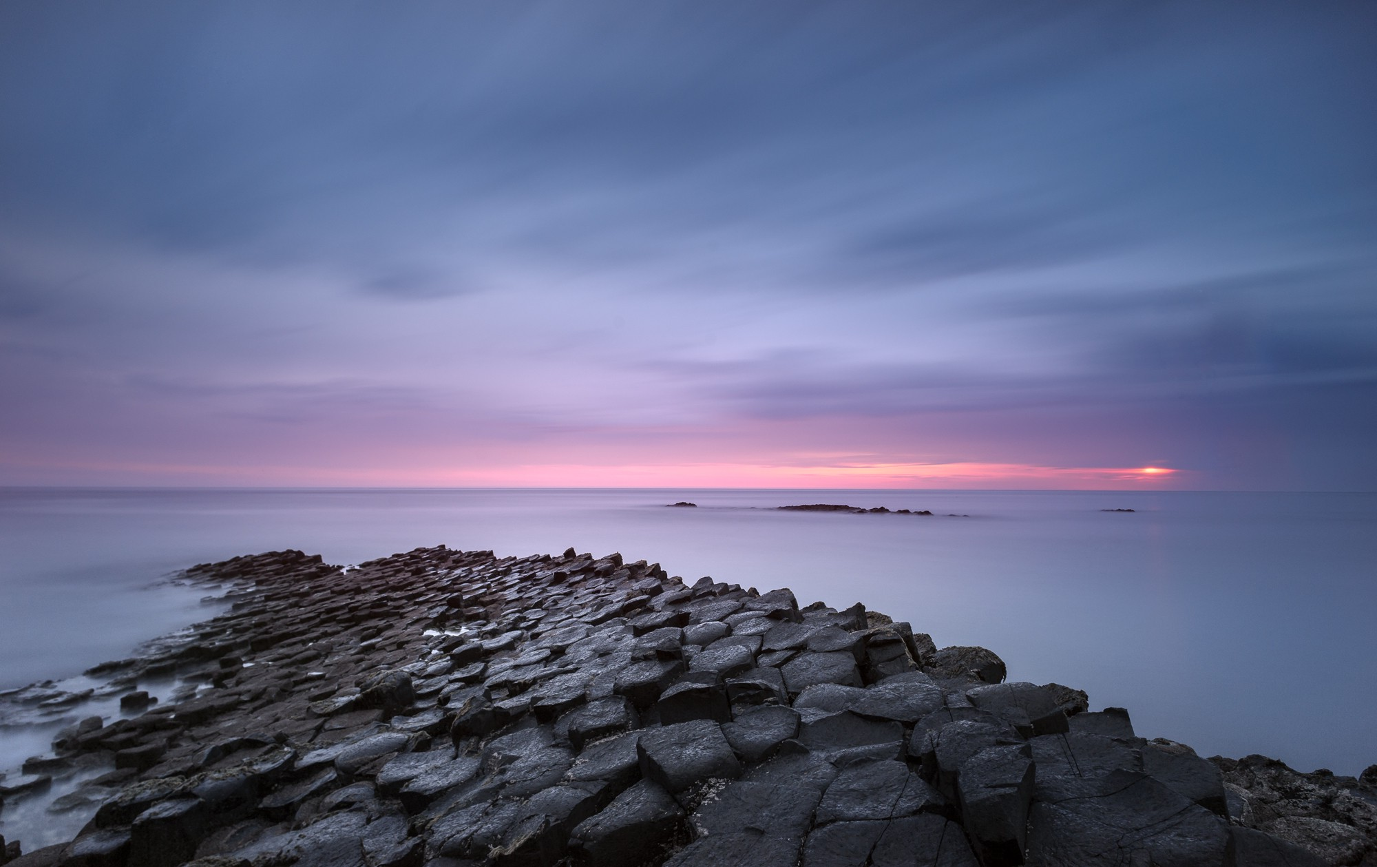 Funny Hd Animal Wallpapers Nature Landscape Giant S Causeway Sea Waves Rock