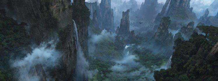 Avatar D Wallpaper Fantasy Art Landscape Valley Avatar Wallpapers Hd